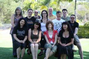 edge writers group, bribie island, 2009