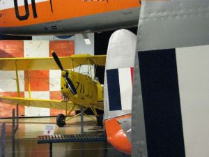 tiger moth at RAAF Museum Point Cook