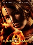 hunger games poster with jennifer lawrence