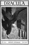 dracula by bram stoker, 1916 cover