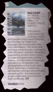 salvage review in herald sun
