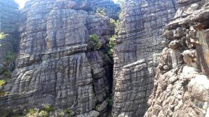 cliff in grampians