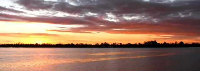 Lake Wendouree sunset, Ballarat