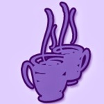 galactic chat coffee cup logo