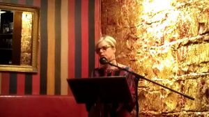 Sally Piper reads from Grace's Table in Melbourne