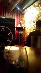 Trent Jamieson reads from  Day Boy.