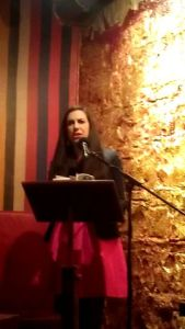 Sarah Holland-Batt  reads from The Hazards in Melbourne