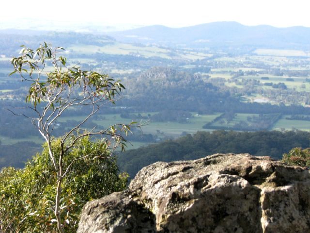 View from Camels Hump, Mt Macedon