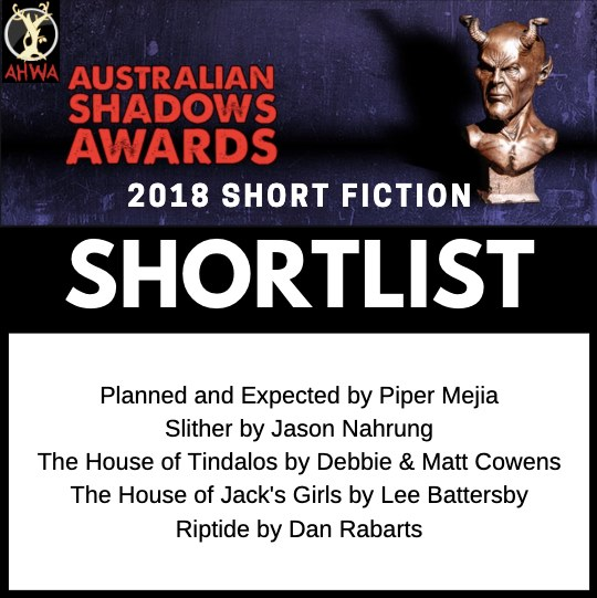 Australian Shadows shortlist for horror short stories