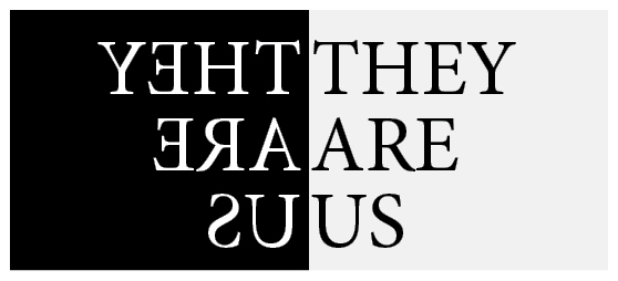 They Are Us exhibition logo